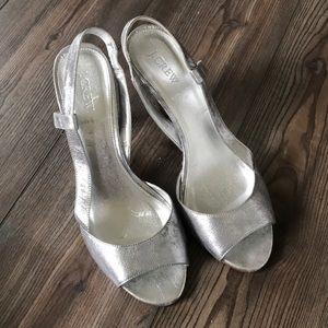 J Crew heels size 10